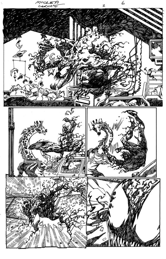 Image of Carnage: Black, White and Blood #1 page 6