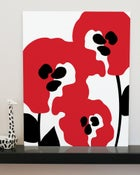 "Image of ""Abstract Poppies"" art print"