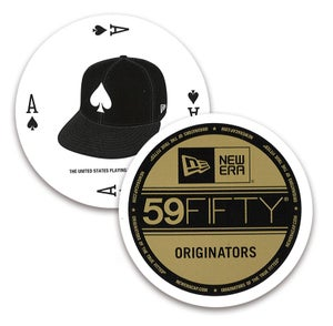 Image of NEW ERA 59FIFTY CIRCLE BICYCLE PLAYING CARDS