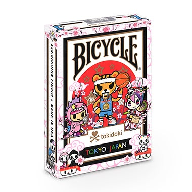 Image of TOKIDOKI SPORTS BICYCLE PLAYING CARDS