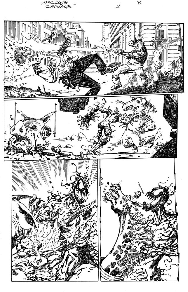 Image of Carnage: Black, White and Blood #1 Page 8