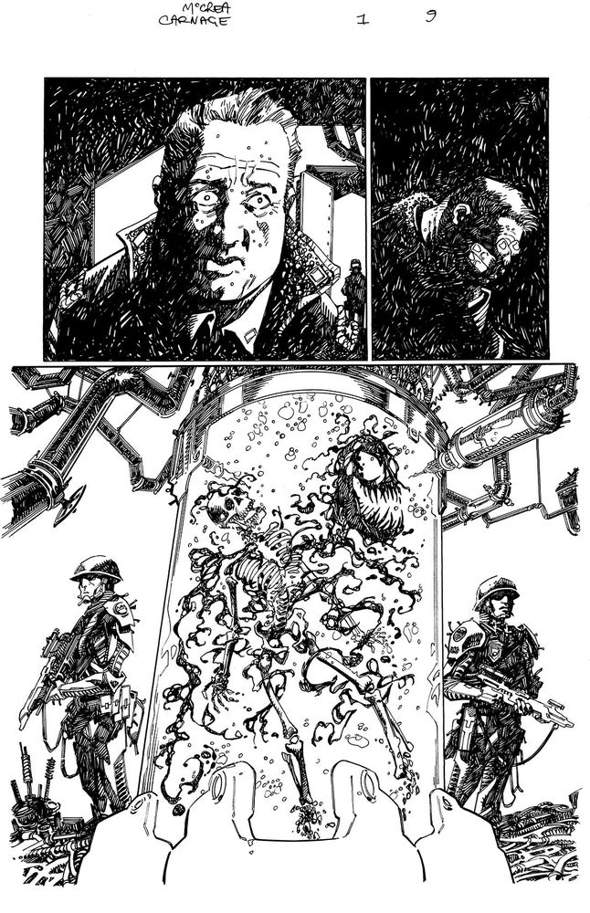 Image of Carnage: Black, White and Blood #1 Page 9
