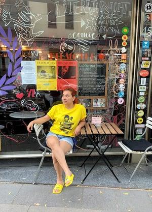 Traumathek T-Shirt Golden Yellow