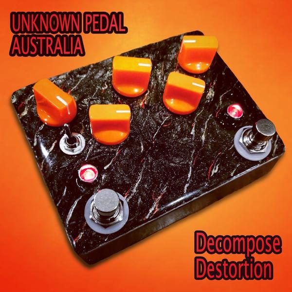 Image of Decompose ( brutal chainsaw distortion ) brutal red