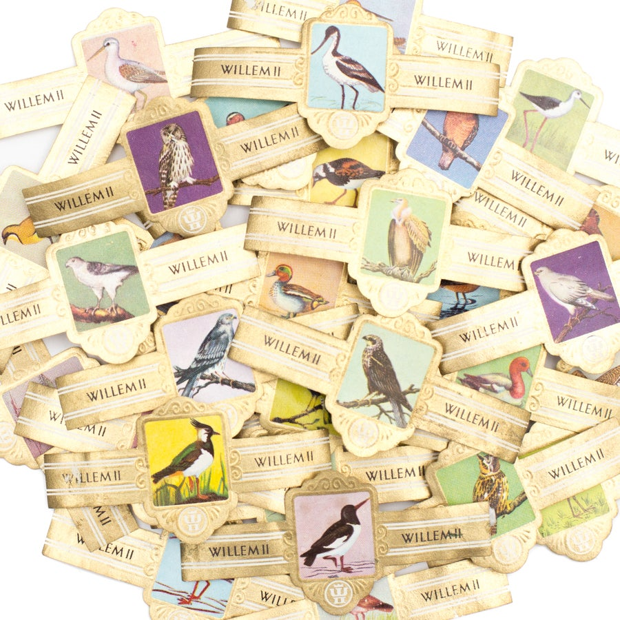 Image of Bird Cigar Bands - Set of 15