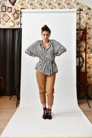 Image 2 of Pantalone beige Progetto Quid