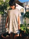 Vestido Monocromático Ramas