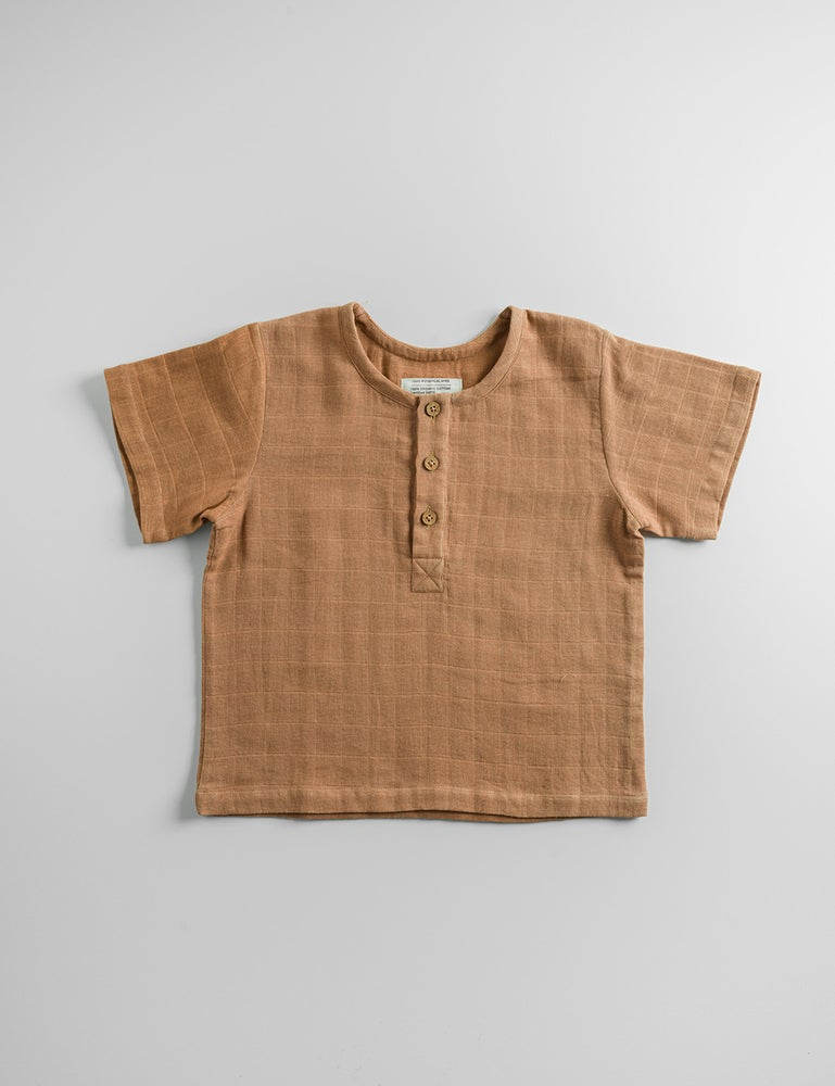 Image of MARTE T-SHIRT_SUGAR BROWN