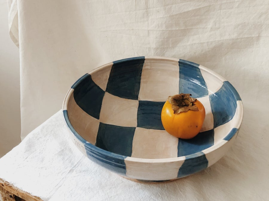 Image of PREORDER :: blue/white :: bowl