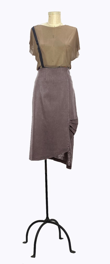Image of Bauhaus Skirt (Gray)