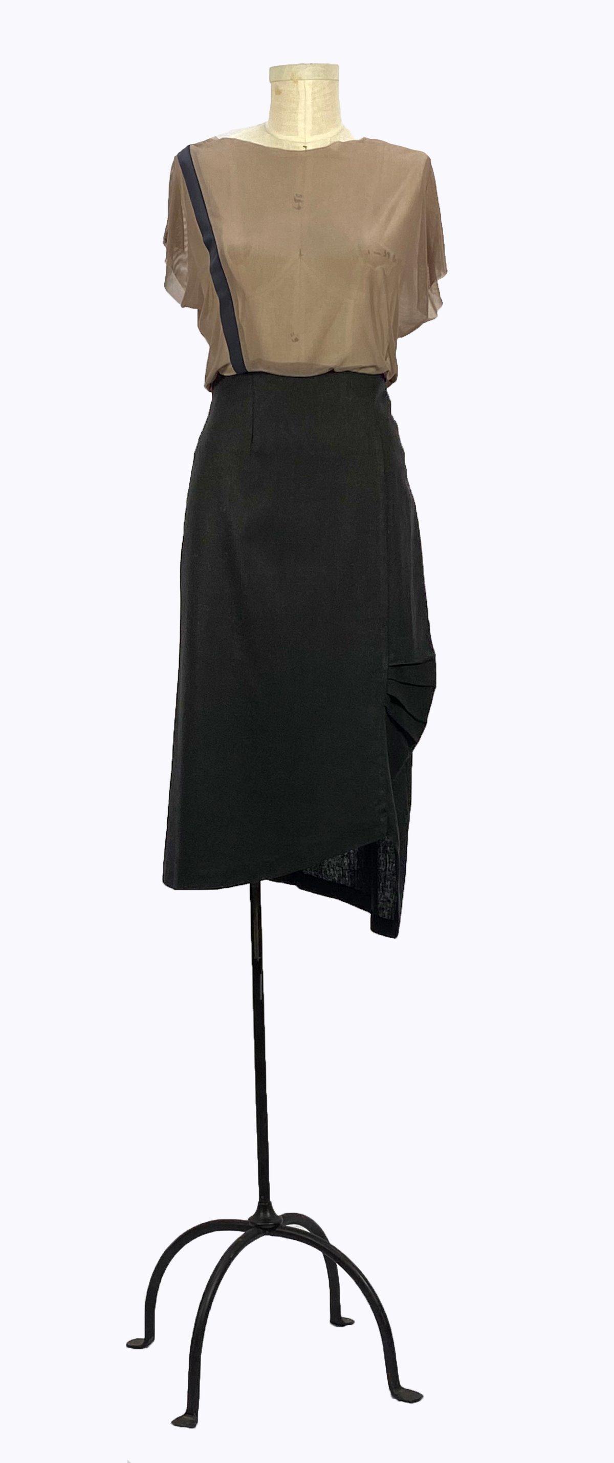 Image of Bauhaus Skirt (Black)