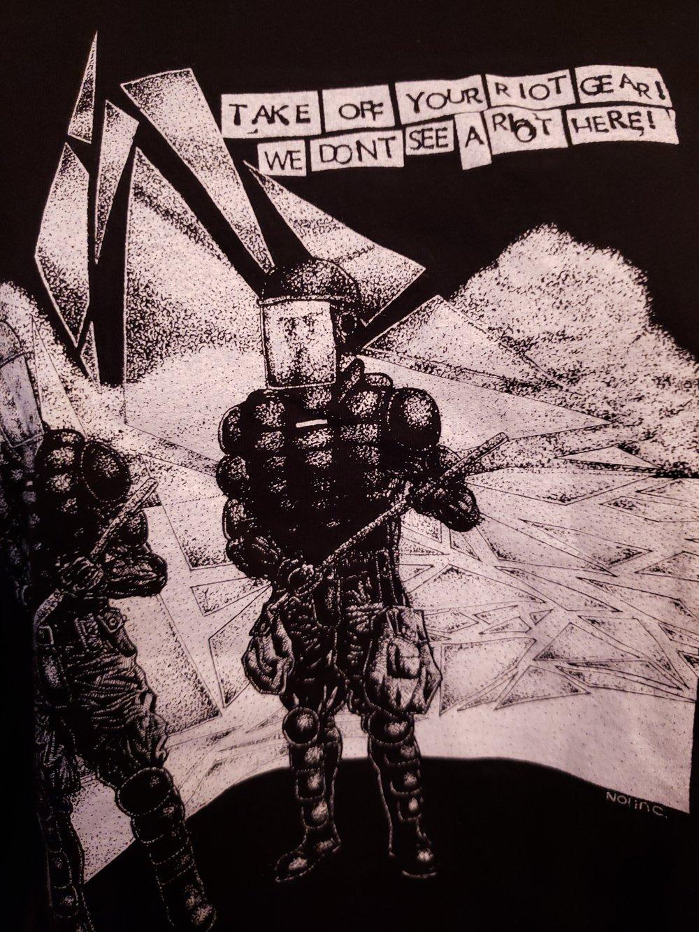 """Riot Gear"" Long Sleeve shirts"