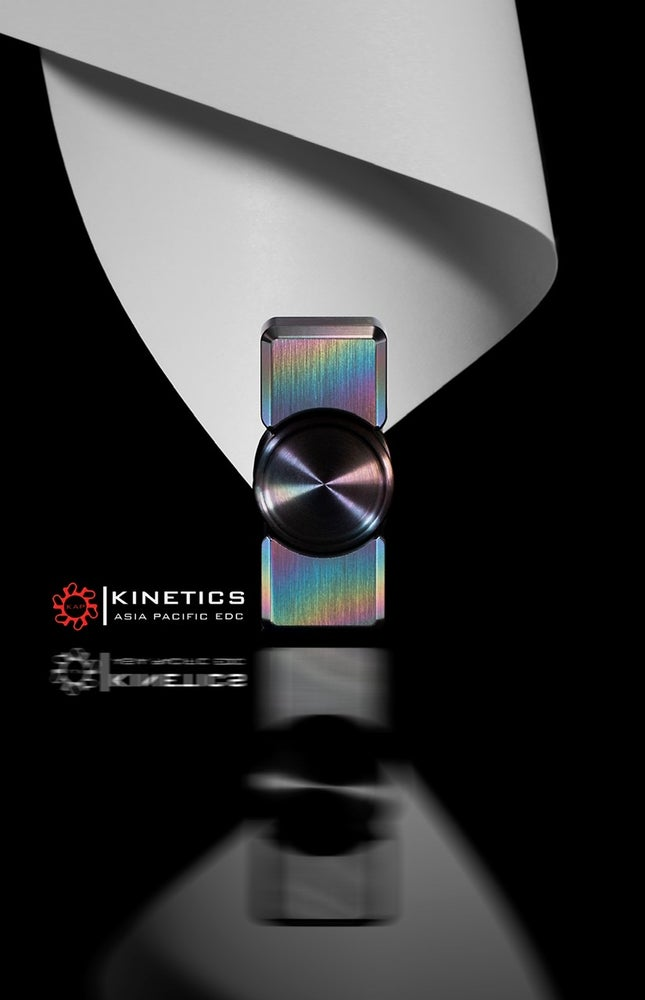Image of Full size of the Zirc Collision spinner brushed  colors or black