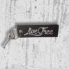 Live Free Keychain