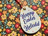Personalised 'Happy Easter' Ceramic Easter Egg Decoration