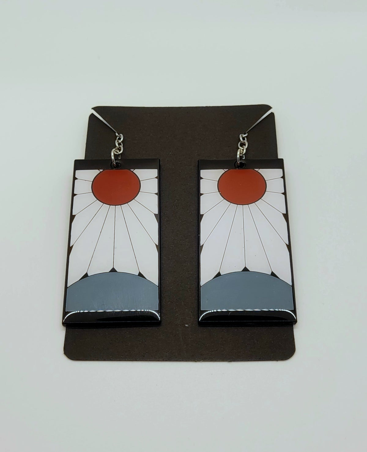 Image of Hanafuda Earrings Demon Slayer