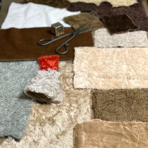 """Grab Bags ~ Mohair, maybe a bit of viscose 36"""" x 20"""" (at least)"""