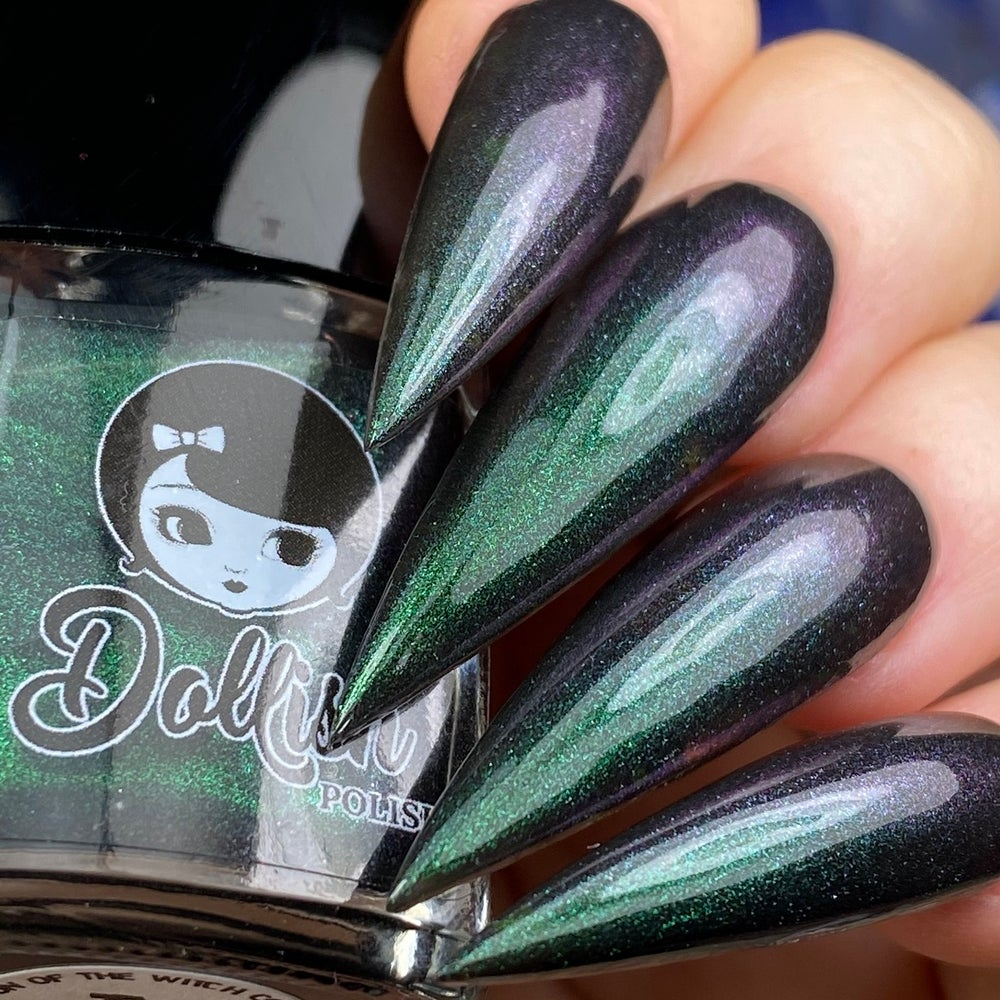 "Image of Season Of The Witch Collection - ""The Church Of Night"" Full size polish"