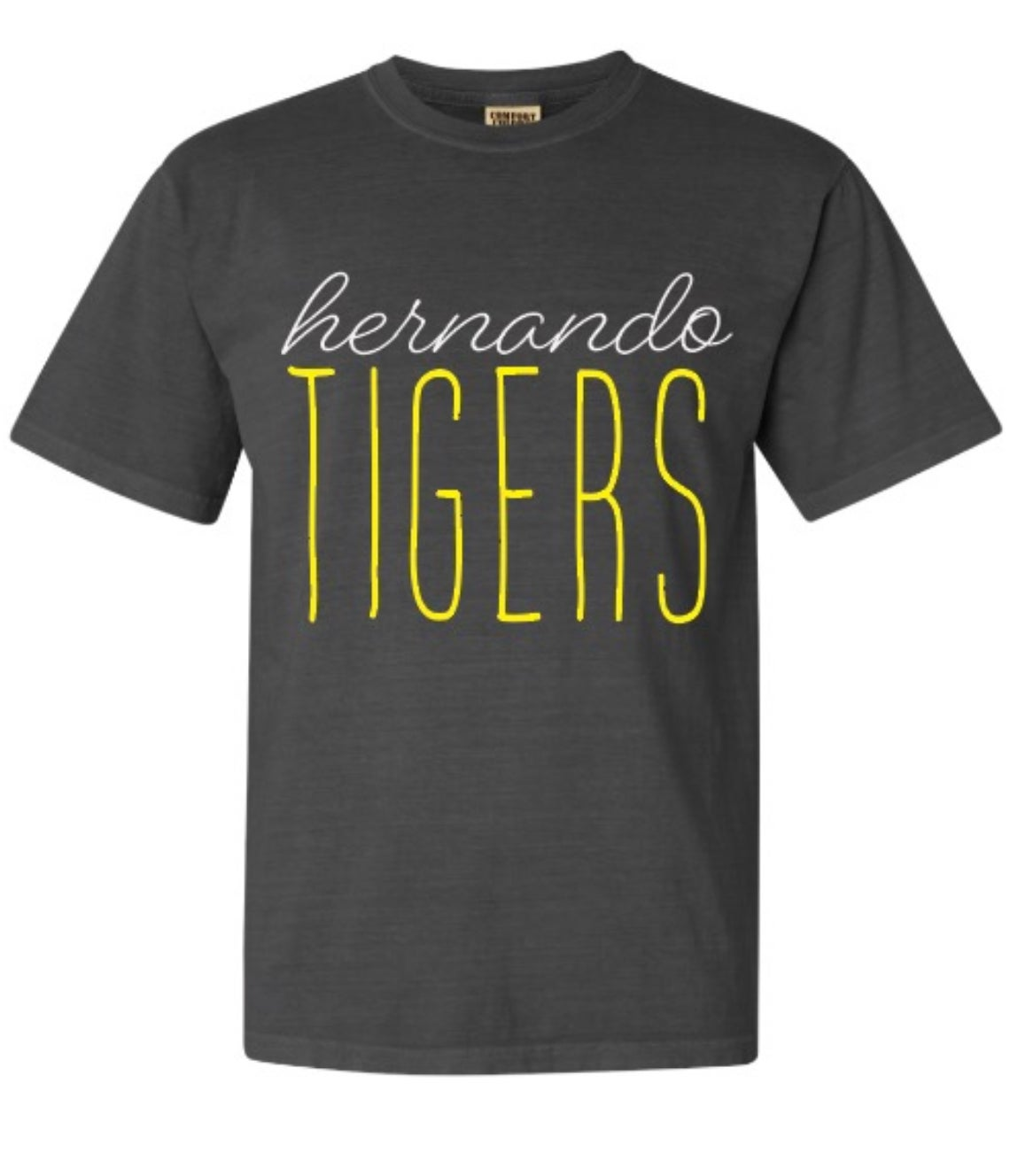 Image of Hernando Tigers - Script Tee #HMD