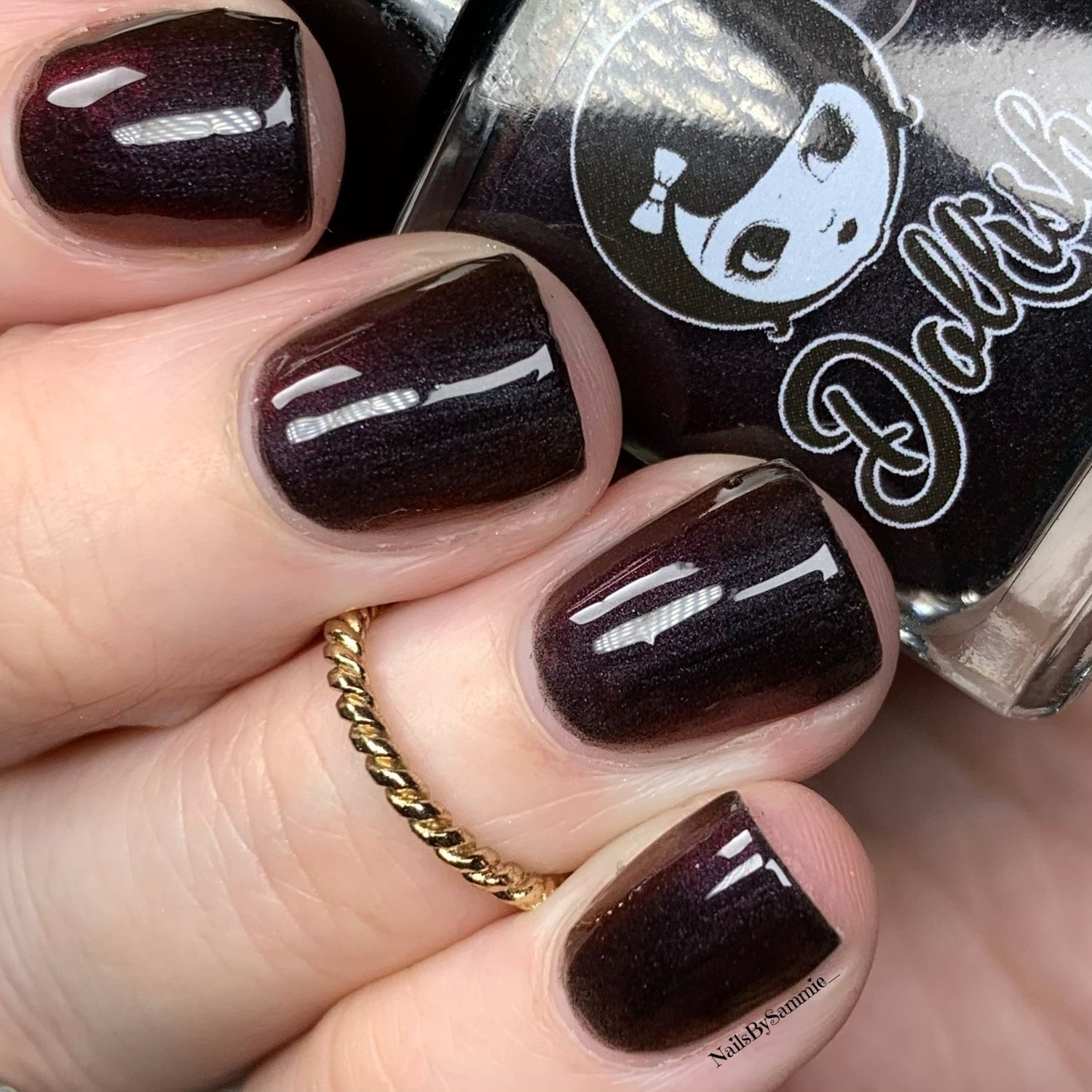 """Image of Season Of The Witch Collection - """"Dark Baptism"""" Full size polish"""