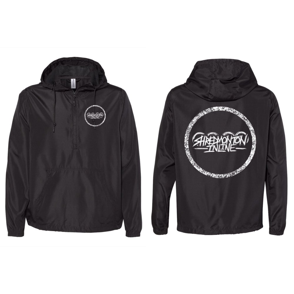 Image of SHREDDED 1/4 Zip Lightweight Windbreaker - Pre-Order