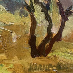Image of 1940's, Post Impressionist, French Landscape Painting