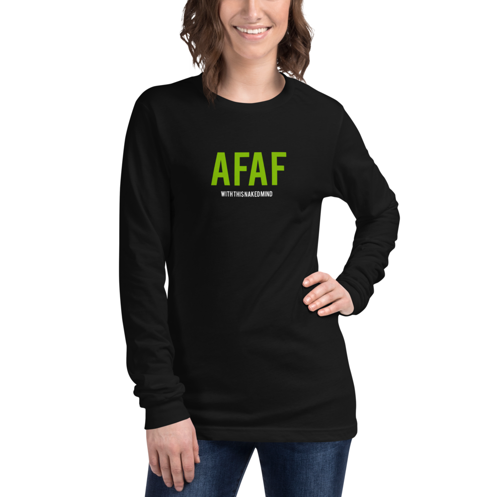Image of AFAF Long Sleeve Long Sleeve Tee