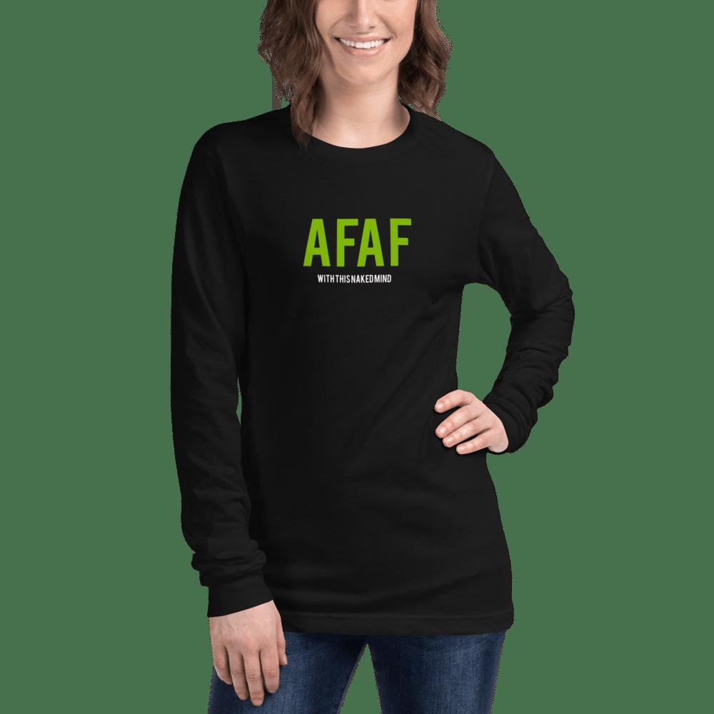 Image of AFAF Long Sleeve Long Sleeve Tee