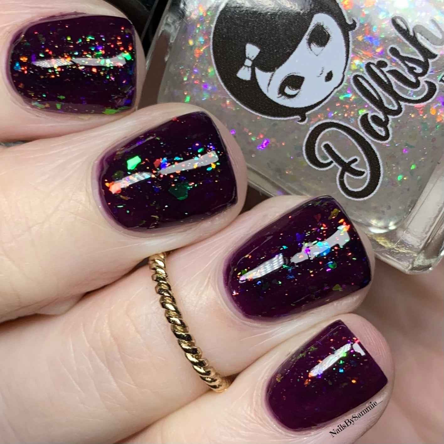 "Image of Season Of The Witch Collection - ""Lupercalia "" Mini size polish"