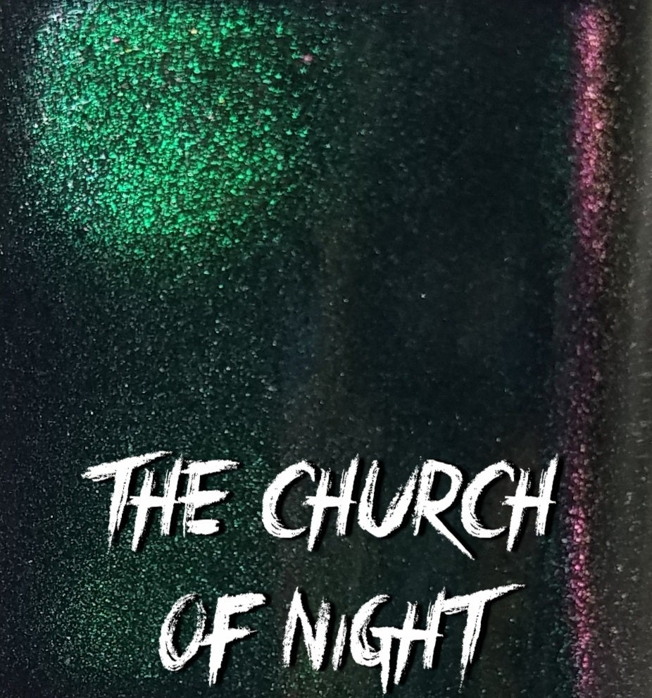 "Image of Season Of The Witch Collection - ""The Church Of Night"" Mini size polish"