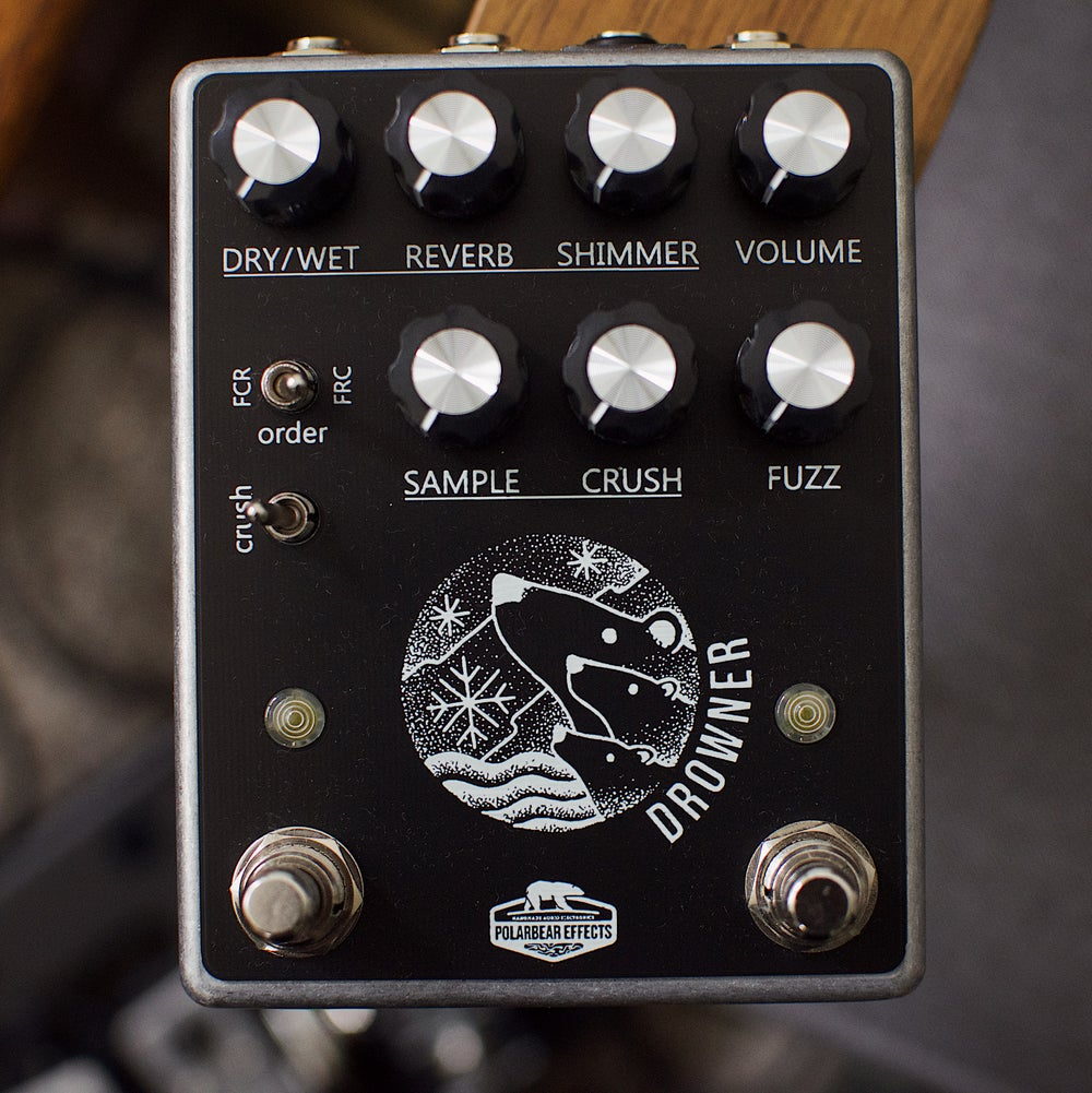 Image of Polarbear Effects Drowner Fuzz & Shimmer Reverb