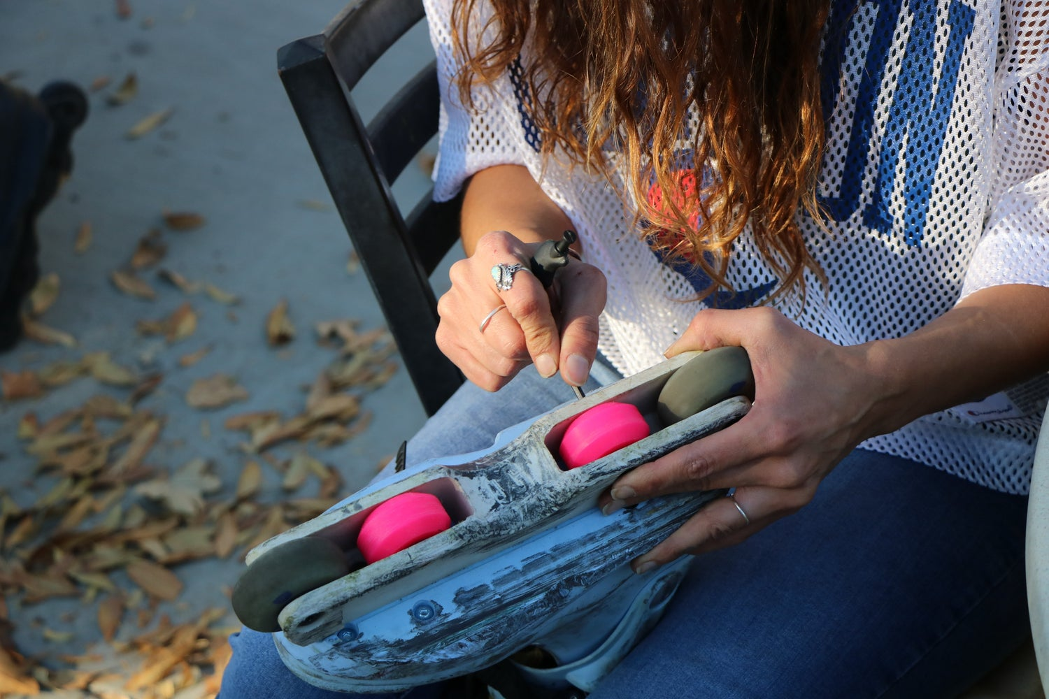 Image of NEON PINK: Moonshine UHMW Custom Anti Rocker Wheels