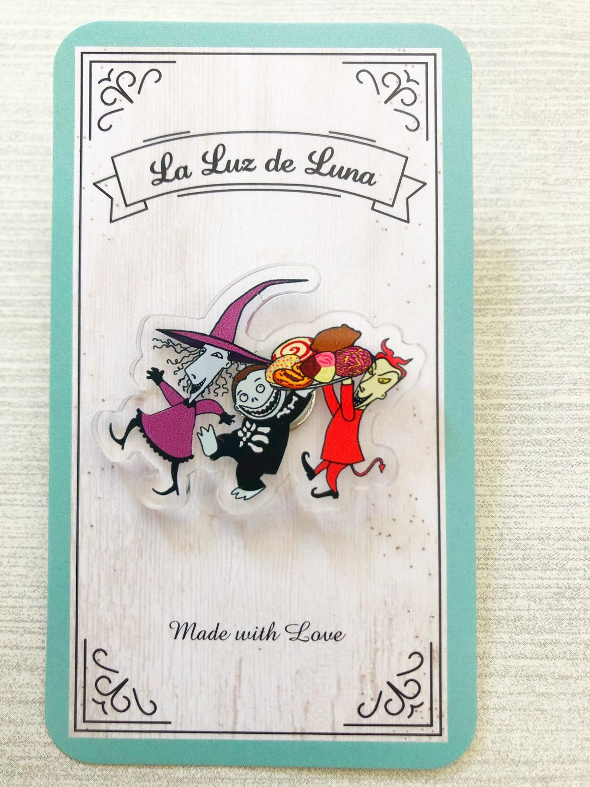 Spooky  Character Acrylic Pins