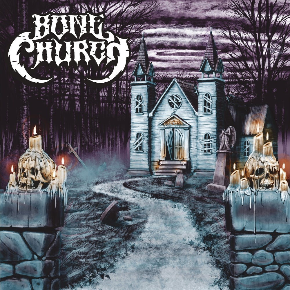 Image of Bone Church s/t (reissue) Limited Digipak CD