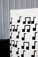 Image 3 of the SHEET MUSIC quilt PDF Pattern