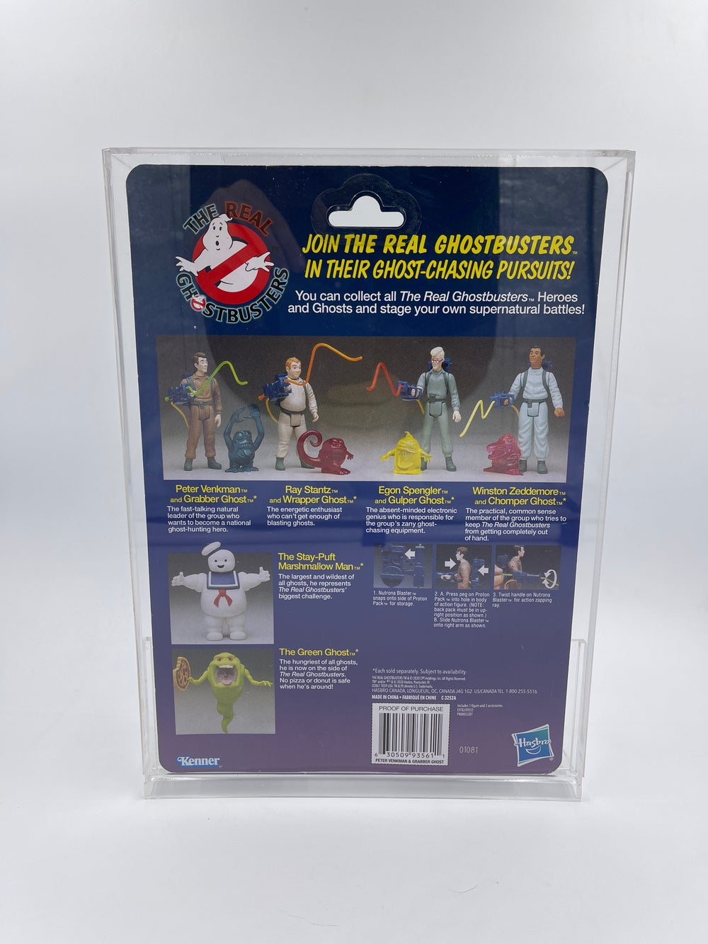 Real Ghostbusters Acrylic Case A and B