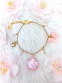 Sakura fairy bell bracelet (Glow-in-the-Dark)