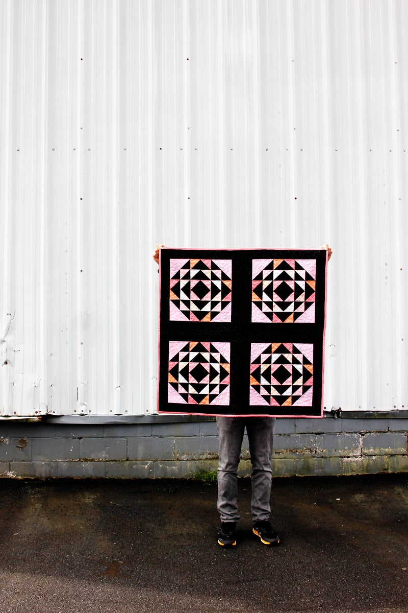 Image of the BASKETCASE QUILT PDF Pattern