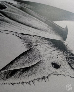 Image of GHOST BAT<br/> <small>Limited Edition Screen Print</small>