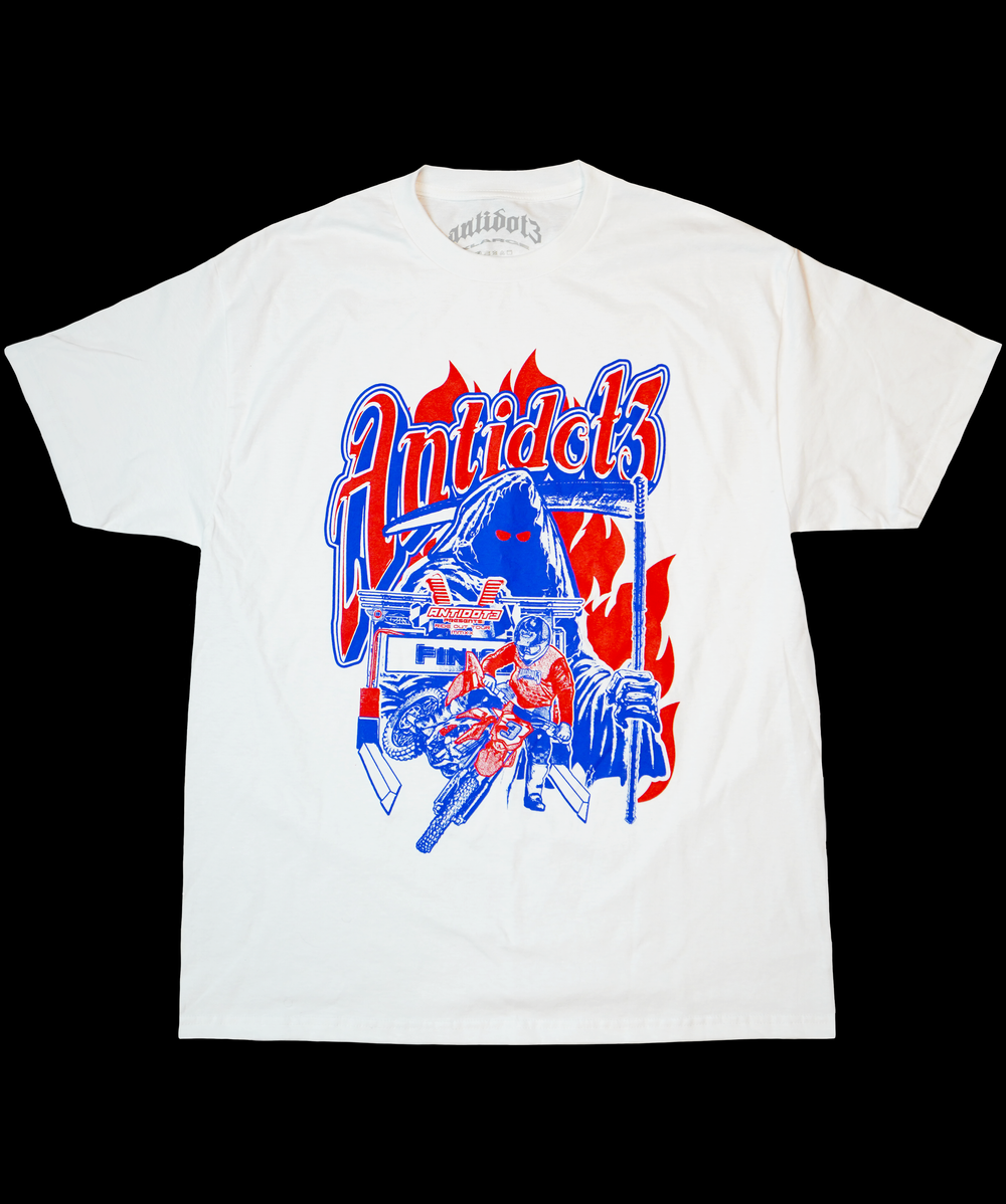 Image of RIDE OUT TOUR T-SHIRT WHITE