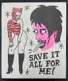 """""""Save It"""" Risograph Print"""
