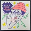 """Gut Feeling"" Risograph Print"