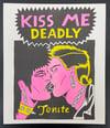 """""""Kiss Me Deadly"""" Risograph Print"""