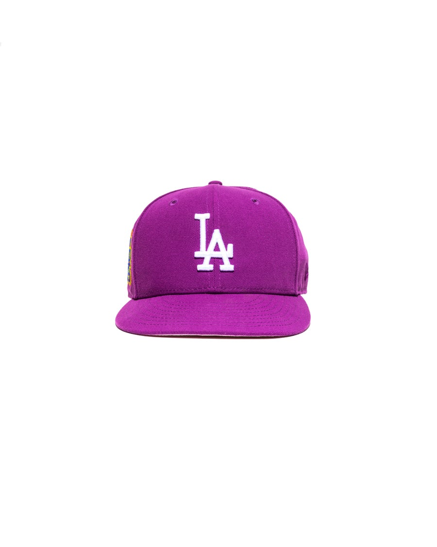 Image of Hat Club x JaeTips- Purple LA Dodgers
