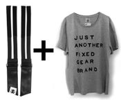 """Image of FAST STRAPS 4.0 + T-SHIRT """"JUST ANOTHER FIXED..."""""""