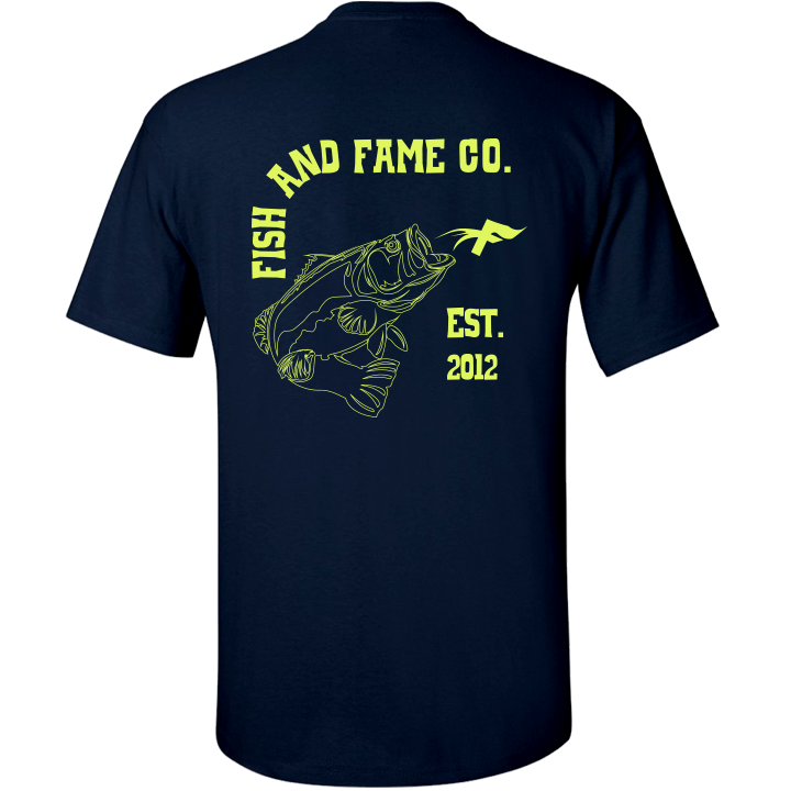 Image of Bass & Co. Tee (navy)