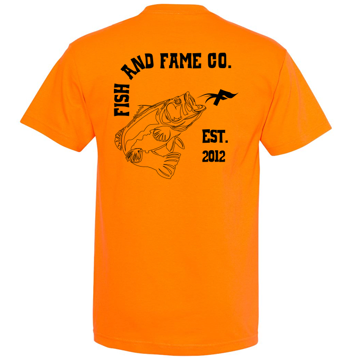 Image of Bass & Co. Tee (orange)