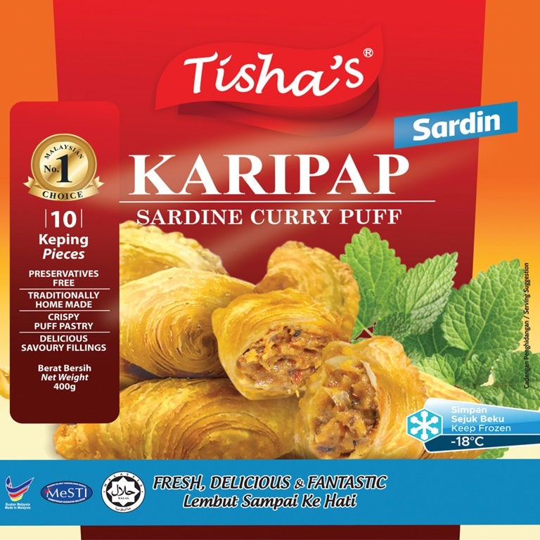 Image of CURRYPUFF - SARDINES (NEW!)