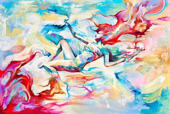 Image of Oceans That Fly Like Fire In The Sky - SIGNED OPEN EDITION PRINT  - FREE WORLDWIDE SHIPPING!!!!