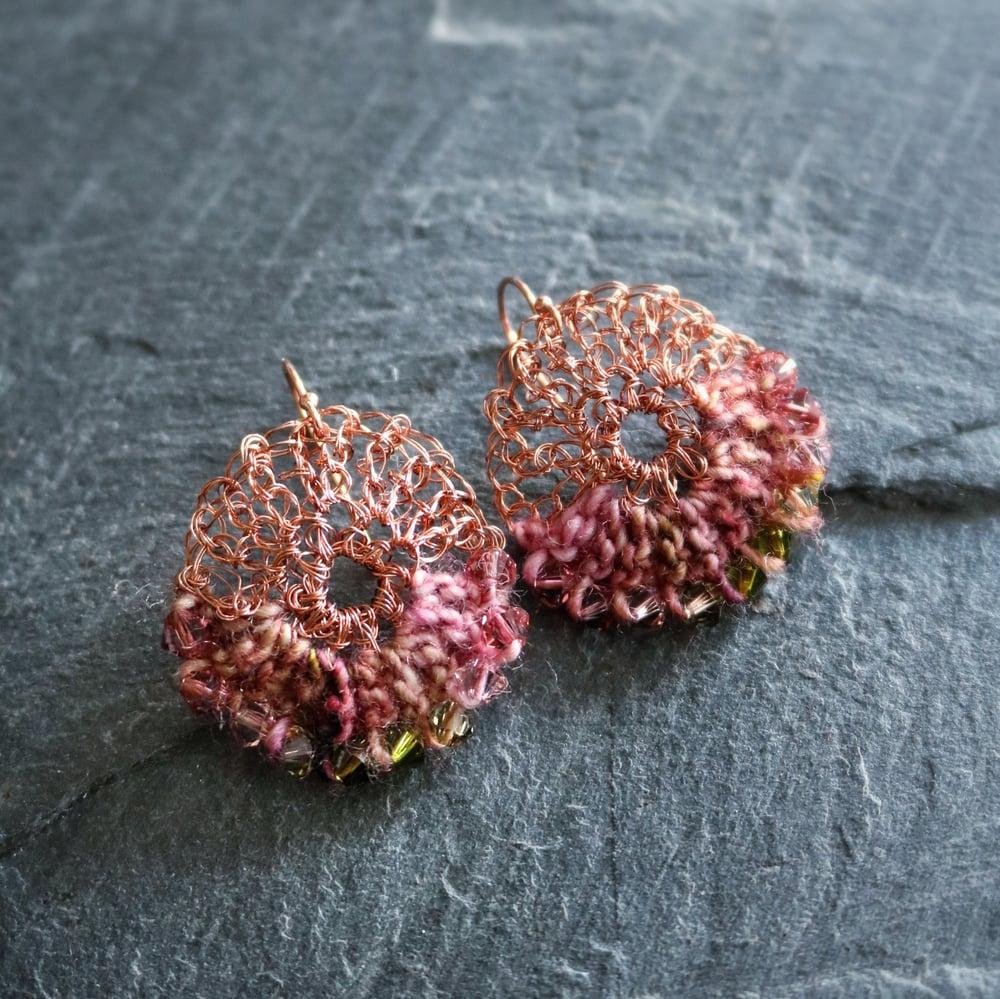 Image of SUNRISE Earrings - Spring Dew
